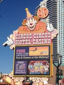 Circus Circus during the holidays