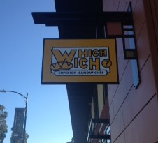 Which Wich sign