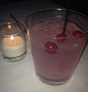 Cranberry Rosemary Smash - Back Bay Social Club