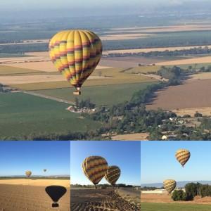Ballooning across Yolo County