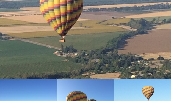 Fly the Friendly Skies - Hot Air Ballooning in Napa