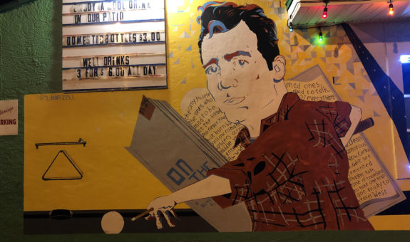 Drinking with Jack Kerouac at the Flamingo Bar